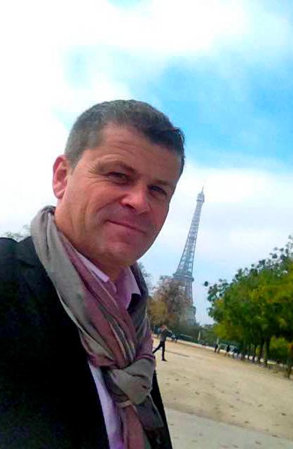 présentation michael jouin, commercial à l'international